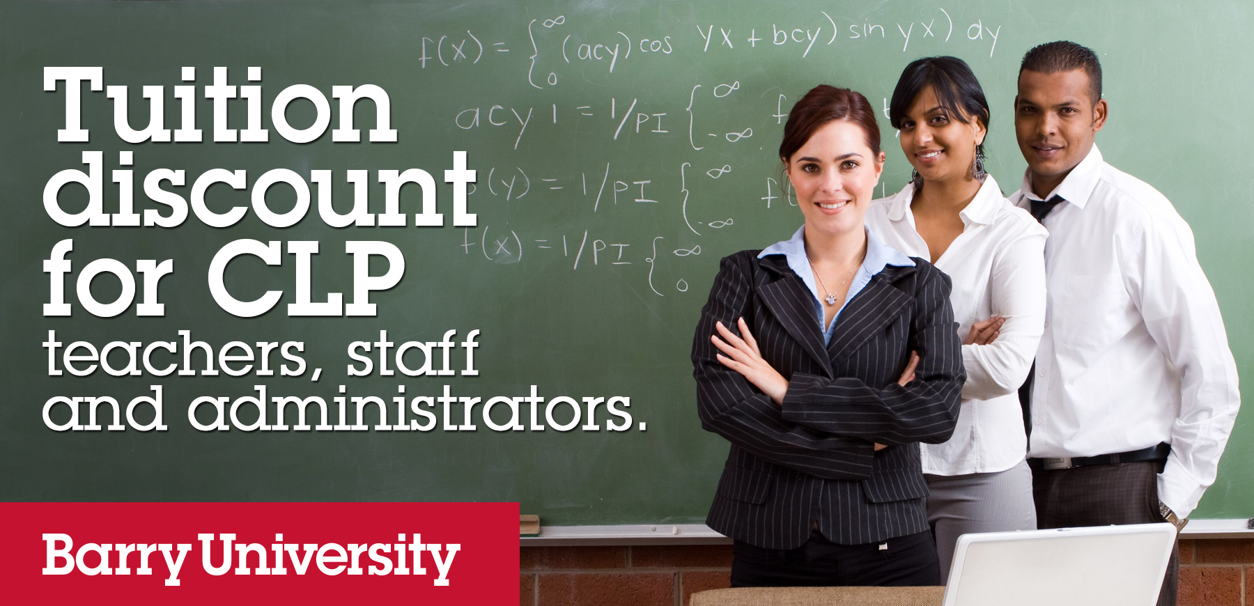 Barry University's CLP Tuition Discount